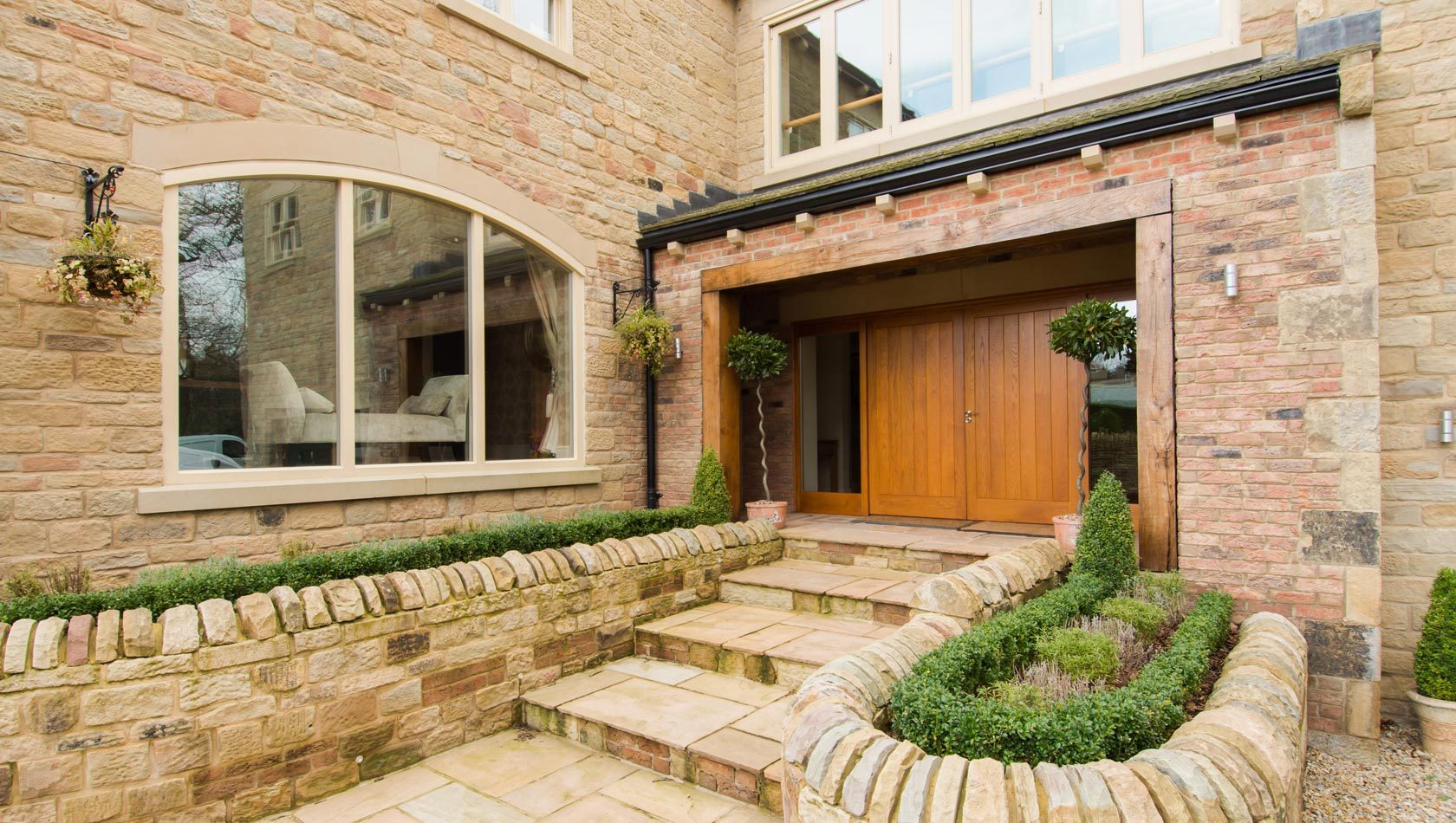 Bespoke timber doors Yorkshire